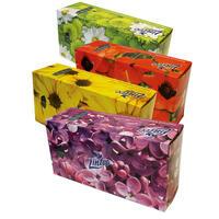 Papírové kapesníky Linteo BOX 150ks, bílé, 2-vrstvé