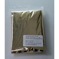 Izotermická fólie ALU zlatá 10ks, 140cmx210cm