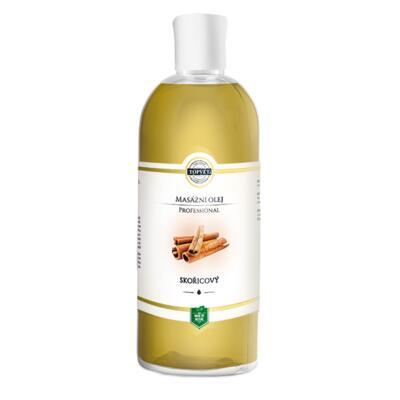 Skořicový masážní olej 500ml