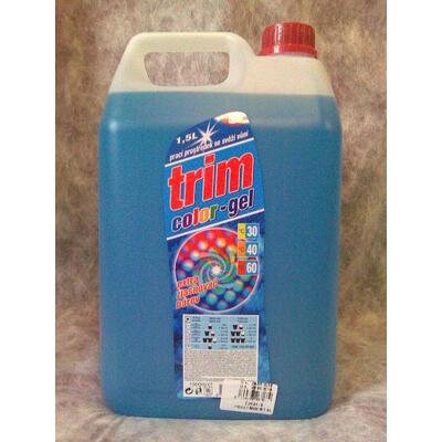 Tekutý gel modrý 5 l - prací prostředek color
