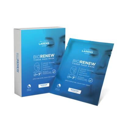 Larens BIO Renew Tissue Face Mask - 4 ks