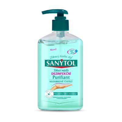 Dezinfekční hloubkově čistící mýdlo 250ml – šalvěj a lípa