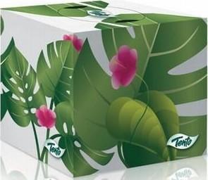 Papírové kosmetické ubrousky Tento CUBE 3vrstvy,58ks