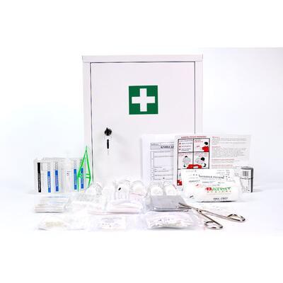 Lékárnička kovová s výbavou Zaklad + EXPIRAČNÍ SERVIS - 1