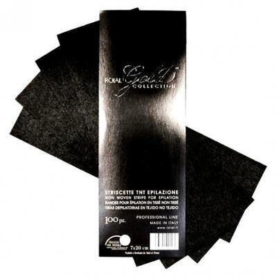 Papírky depilační ROIAL GOLD 50 ks - 1