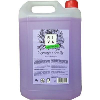 Riva Antibakteriální jemné tekuté mýdlo rozmarýn a fialky