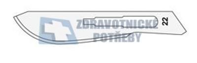 Čepelky skalpelové karbon Surgeon č:22/100ks - 1