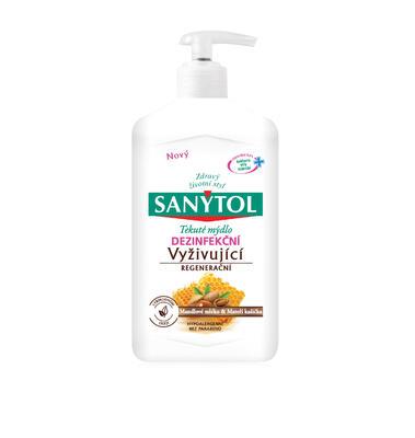 SANYTOL Dezinfekční mýdlo vyživující 250ml