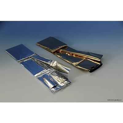 Izotermická fólie ALU stříbrná 10ks 140x200cm