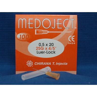 Jehla oranžová  0,5x20 mm, 20ks
