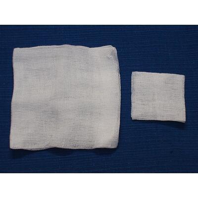 Komprese - netkaná textilie 5x5cm,100ks
