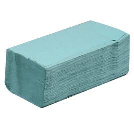 Ručníky papírové skládané zelené 250ks Z-Z