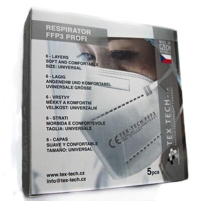 Respirátor FFP3  PROFI 5ks - 2