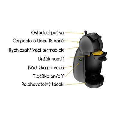 Espresso Krups NESCAFÉ® Dolce Gusto™ Piccolo KP100B - 3